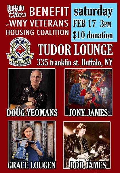 Buffalo Blues Event Tudor Lounge